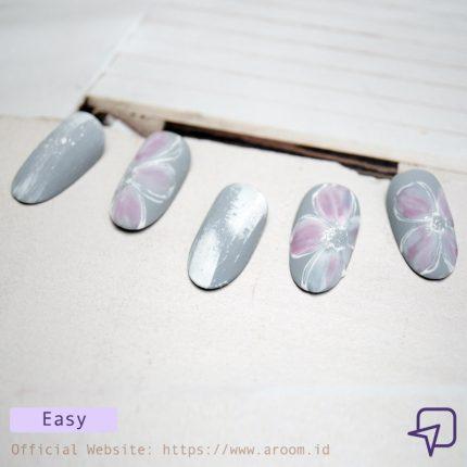 Kiky Handoko Splash Nail Design