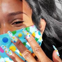 Nail Art Mask Matching