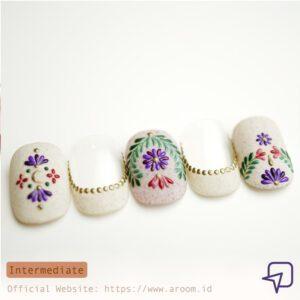 Kursus Nail Art Popcoat Mexican Flower